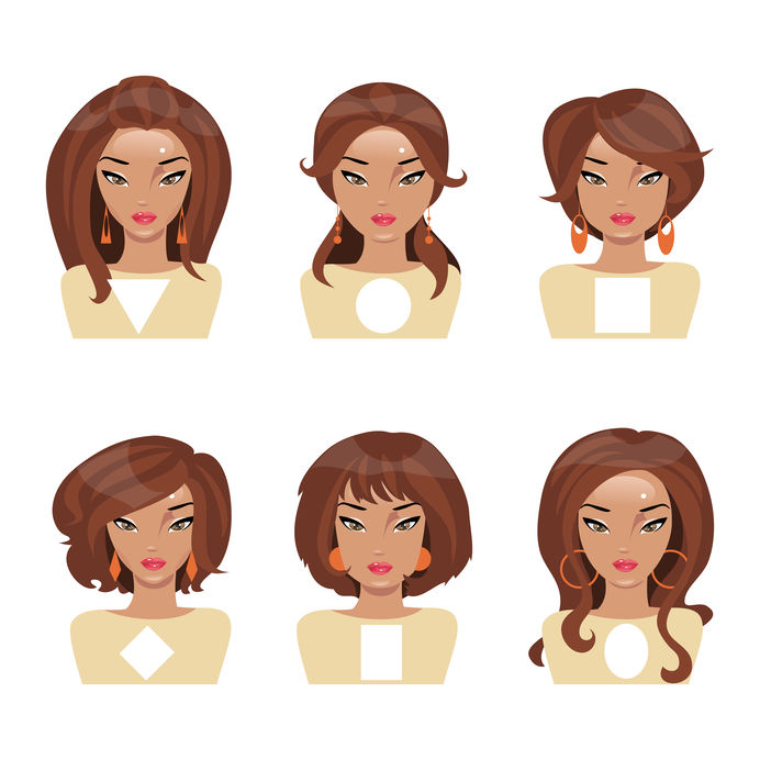 Gesichtsformen und passende Haarschnitte