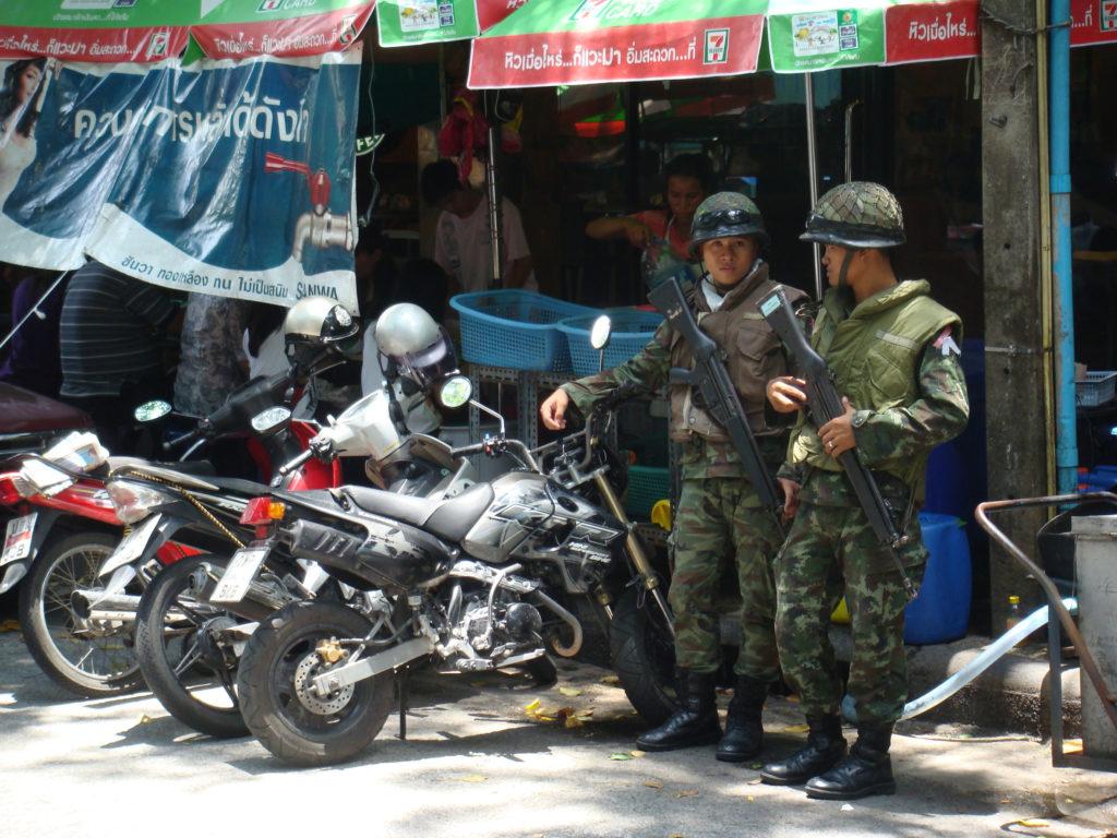 sicherkeit in Thailand