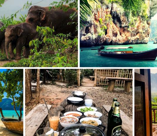 Urlaub Planung in Thailand