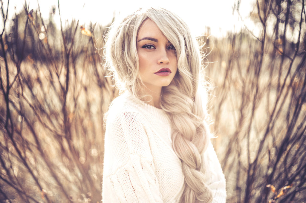 Vanilla Blond haarfarben trends