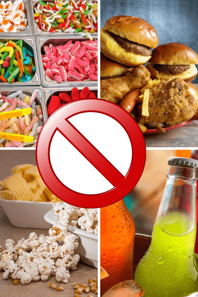 Bauchfett loswerden - vermeide diese Produkte!