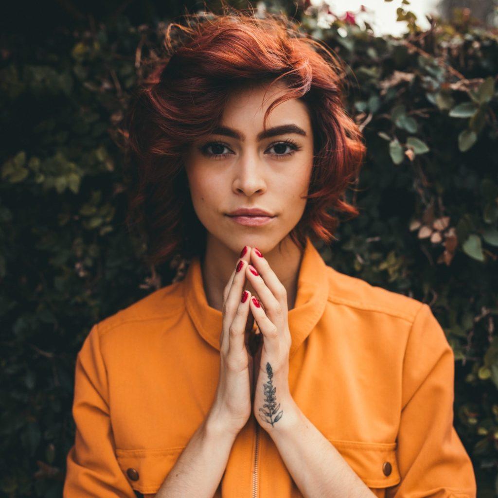 Kupferrot haarfarben