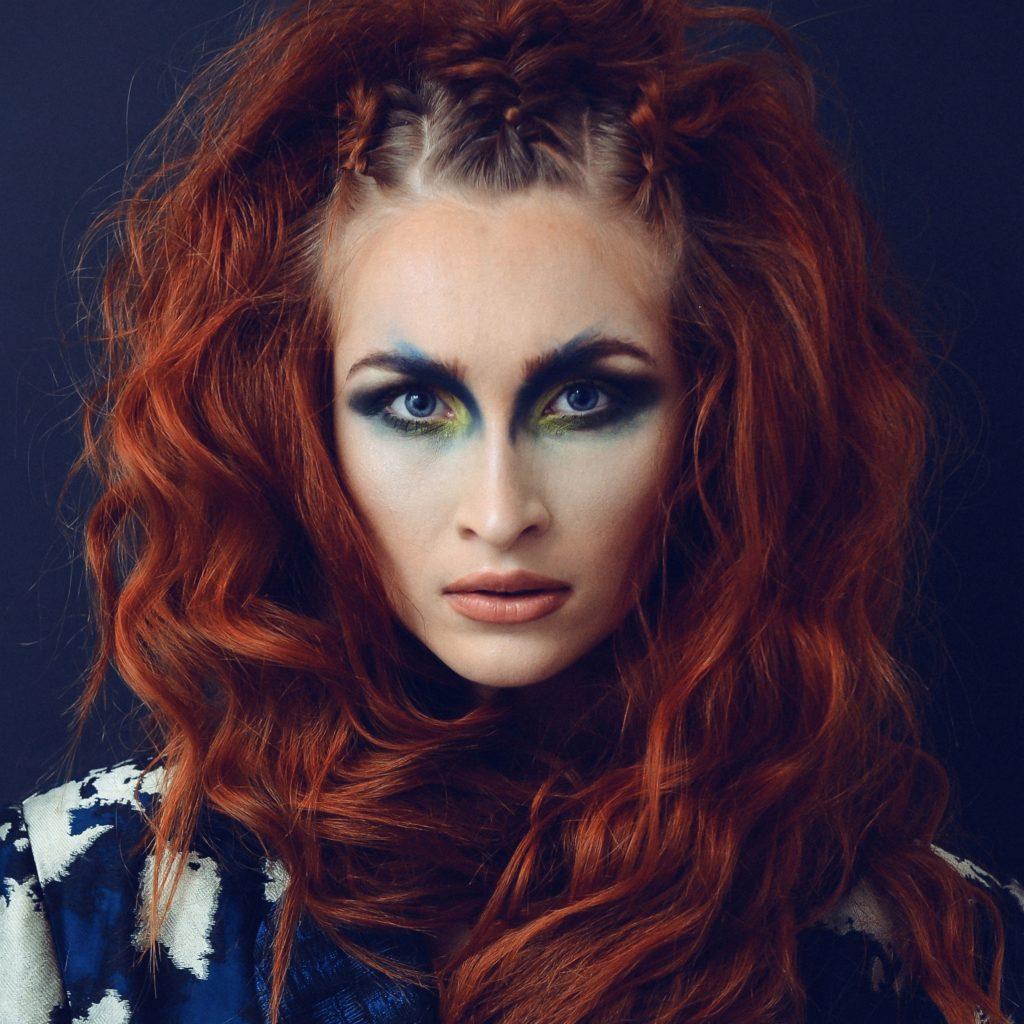 Kupferrote haare