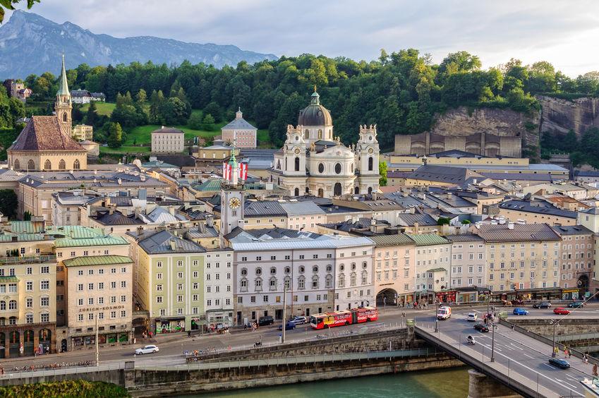 Salzburg. Österreich