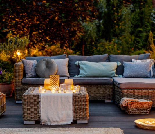 Terrasse zum Urlaubsparadies