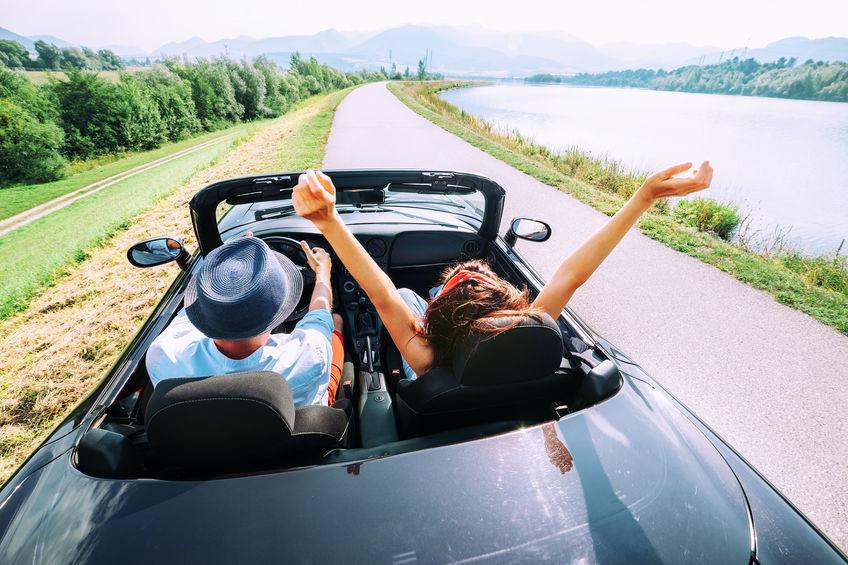 romantische Reise