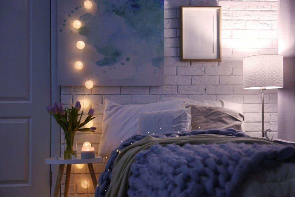 in Schlafzimmer besser schlafen